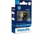 Λάμπα Philips Festoon X-Treme Ultinon Led 30mm 4000K 12V 1W 1τμχ