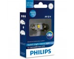 Λάμπα Philips Festoon X-Treme Ultinon Led 43mm 4000K 12V 1W 1τμχ