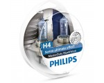 Λάμπες Philips H4 24V 75/70W Master Duty Blue Vision 2Τμχ