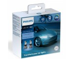 Λάμπες Philips H4 Ultinon Essential Led 12V 24V 21W 6500K 2τμχ