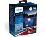 Λάμπες Philips H4 X-Treme Ultinon Led Gen2 12V 22W +250% Περισσότερο Φως 5800K 2τμχ