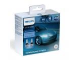 Λάμπες Philips HIR2 Ultinon Essential Led 12V 24V 24W 6500K 2τμχ