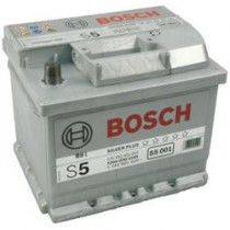 BOSCH ΜΠΑΤΑΡΙΑ S5 52AH 520A ΔΕΞ 0092S50010