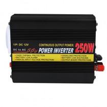 Μετασχηματιστής  12V ->220V με ισχύ 250W
