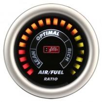 Όργανο Auto Gauge Αέρος Καυσίμου Φιμέ