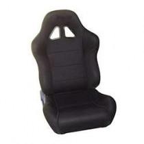 Καθίσματα Ανακλινόμενα Bucket Oem Υφασμάτινα Μαύρο (1Τμχ)