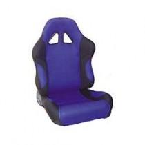 Καθίσματα Ανακλινόμενα Bucket Oem Υφασμάτινα Μαυ-Μπλέ (1Τμχ)