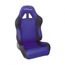 Καθίσματα Ανακλινόμενα Bucket Wrc Υφασμάτινα Μαυ-Μπλέ (1Τμχ)