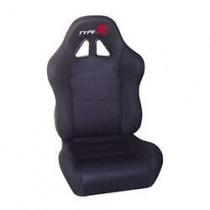 Καθίσματα Ανακλινόμενα Bucket Type-R Υφασμάτινα Μαύρο (1Τμχ)