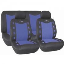 Κάλυμμα Σετ 5τμχ Autoline X-Team-Μαύρο-Μπλε