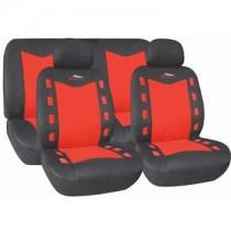 Κάλυμμα Σετ 5τμχ Autoline X-Team Μαύρο-Κόκκινο