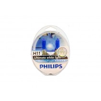 Λάμπες PHILIPS H11 12V 55W Diamond Vision 5000k 2τμχ