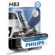 Λάμπες PHILIPS HB3 White Vision 12V 60W 3700K 1Τμχ