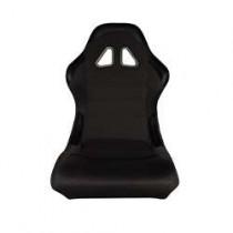 Καθίσματα Bucket Κουβάδες Υφασμάτινα Μαύρο (1Τμχ)