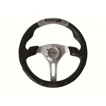 Τιμόνι Αυτοκινήτου Autoline Ngx 35Cm Μαύρο-Γκρι