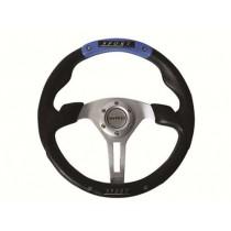 Τιμόνι Αυτοκινήτου Autoline Ngx 35Cm Μαύρο-Μπλε