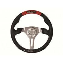 Τιμόνι Αυτοκινήτου Autoline Ngx 35Cm Μαύρο-Κόκκινο