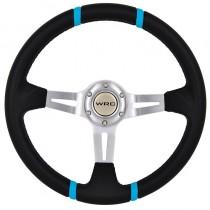 Τιμόνι Αυτοκινήτου Βαθύ Autoline Tag 35Cm Μαύρο-Μπλε