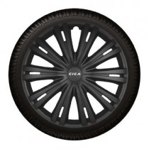 Τάσια Αυτοκινήτου 4τμχ Gorecki Argo Giga black 16