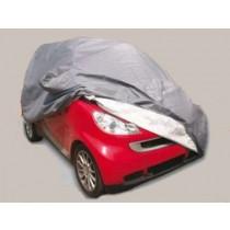 Κουκούλα αυτοκινήτου AutoLine TopCover Αδιάβροχη Smart με Θήκες Καθρεπτών