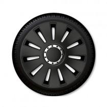 Τάσια Αυτοκινήτου 4τμχ Gorecki Argo Silverstone Pro Black 14