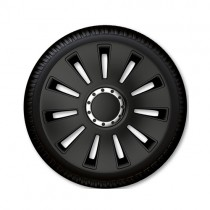 Τάσια Αυτοκινήτου 4τμχ Gorecki Argo Silverstone Pro Black 16