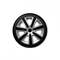 Τάσια Αυτοκινήτου 4τμχ Gorecki Argo VR Silver Black 15