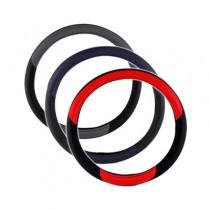 Δερμάτινο Κάλυμμα Τιμονιού Autoline 39″ Κόκκινο