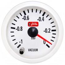 Όργανο Auto Gauge Οικονομόμετρο/Vacuum A.G Λευκό