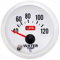 Όργανο Auto Gauge Θερμοκασία Νερού Λευκό