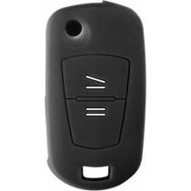 Θήκη Κλειδιών Σιλικόνης Opel Type-1 Μαύρο 1τμχ