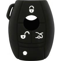 Θήκη Κλειδιών Σιλικόνης Mercedes Type-1 Μαύρο 1τμχ