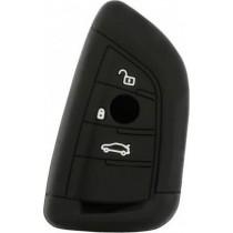 Θήκη Κλειδιών Σιλικόνης BMW Type-3 Μαύρο 1τμχ