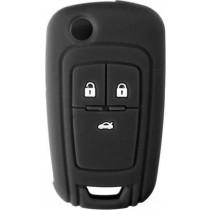 Θήκη Κλειδιών Σιλικόνης Opel Type-2 Μαύρο 1τμχ