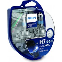 Λάμπες Philips H7 Racing Vision GT200 +200% 12V 60/55W