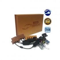 Xenon Can Bus Φώτα Hid 55Watt H4 Slim Ballast 8000K