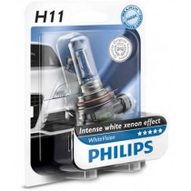 Λάμπες PHILIPS H11 White Vision 12V 55W 3600K 1Τμχ