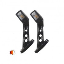 Led Set Τετράγωνα Πλευρικά Φώτα Όγκου Φορτηγών Ip66 Κέρατο 24 Volt 2Τμχ
