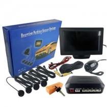 Αισθητήρα Παρκαρίσματος Kit 4 Αισθητήρων Κάμερα Και Οθόνη