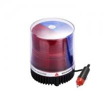 Φάρος Led Αστυνομίας Κόκκινο & Μπλέ 12 Volt Dc Με Μαγνήτη Strobe