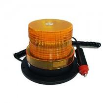 Φάρος Led Oδικής Βοήθειας Πορτοκαλί 12 Volt Dc Με Μαγνήτη Strobe