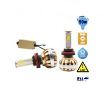 Led Hid Kit H8 45 Watt 4500 Lumen 9-32V 6000K