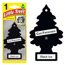 Αρωματικό Δεντράκι Little Trees Car Freshener - black ice