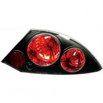 Πίσω φανάρια μαύρα για Mitsubishi Eclipse (2000-2005)