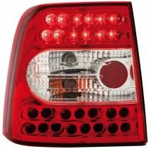 Πίσω φανάρια κόκκινα Led για VW Passat 3Β / Β5 (1997-2000)