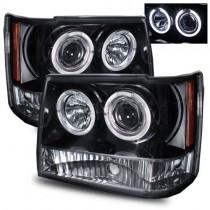 Φανάρια εμπρός Angel Eyes για Jeep Grand Cherokee (1993-1998)