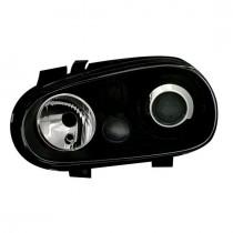 Φανάρια εμπρός μαύρα για VW Golf IV R32