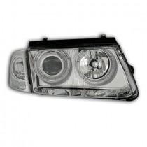 Φανάρια εμπρός Angel Eyes χρωμίου για VW Passat 3Β/B5 (1997-2000)