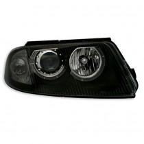 Φανάρια εμπρός Engel Eyes μαύρα για VW Passat B5.5 (2001-2005)