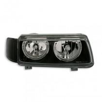 Φανάρια εμπρός Angel Eyes μαύρα για VW Passat Β4 (1993-1996)